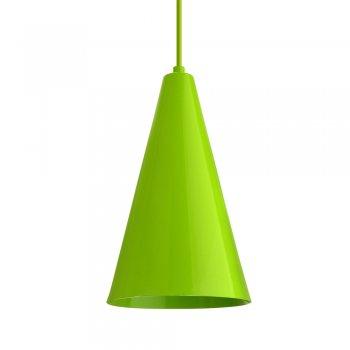 Pendente Cone  25x15cm Verde Citrico