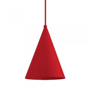 Pendente Mini Cone 18x14cm Vermelho